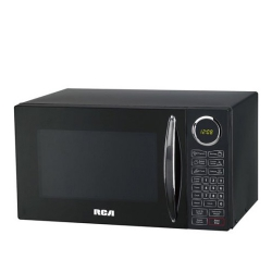 RCA 0.9 cu ft Microwave, Black