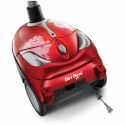 Dirt Devil Tattoo Bagged Canister Vacuum